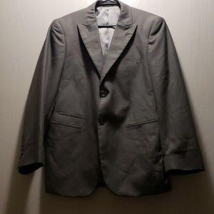 J.Ferrar medium size 34 gray suit Jacket